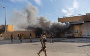 Американское посольство в Багдаде вновь подверглось ракетному обстрелу