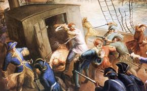 В этот день в 1701 шведская эскадра села на мель близ Архангельска