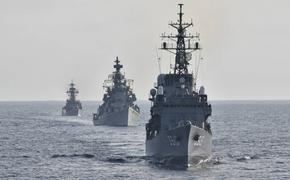 Прошли совместные военно-морские учения кораблей ВМС Индии и Сил самообороны Японии