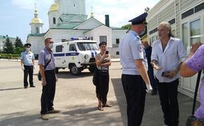 Никита Джигурда заблокирован на территории Дивеевского монастыря полицией