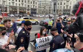 В МВД объяснили «незаконность» одиночных пикетов