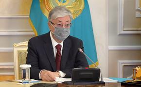 Президент Казахстана сравнил вызванный пандемией кризис с войной