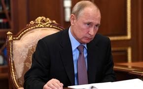 Путин разочарован отсутствием динамики по урегулированию в Донбассе