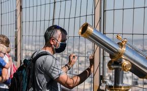 В Париже открыли террасу на Эйфелевой башне