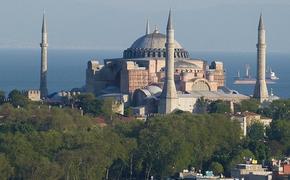 Власти Греции сочли ситуацию с собором Святой Софии «открытым вызовом» миру