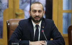 Председатель Национального собрания Армении Арарат Мирзоян обратился к зарубежным коллегам