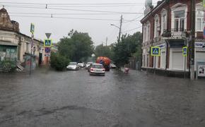 Больше 20 мм осадков выпало в Краснодаре за два часа