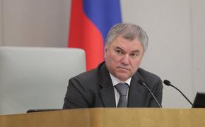 Володин пригрозил выдачей в РФ украинским политикам за призывы «вернуть» Крым