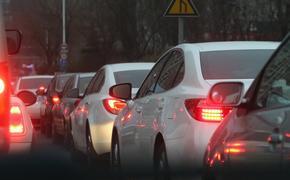 Сегодня вечером пробки в Москве достигли 9 баллов