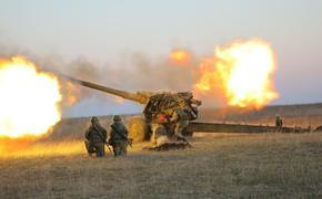 В сеть попали фотографии атакующей боевиков в сирийском Идлибе артиллерии России