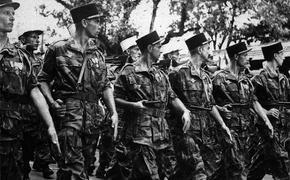 После Второй Мировой в Иностранный легион хлынули эсэсовцы