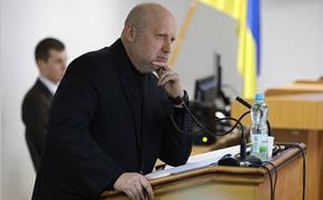 Турчинов рассказал, когда Киев будет готов к войне с Россией за Крым