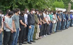 Около 100 чеченцев вернули на родину из Москвы для перевоспитания