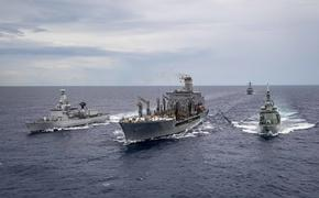 Появилось сообщение о бегстве кораблей НАТО, устроивших провокацию в Черном море