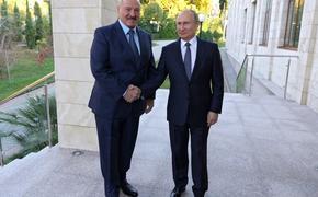 Путин и Лукашенко обсудили ситуацию с задержанием россиян