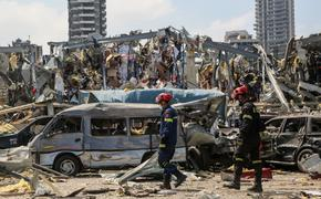 Президент Ливана озвучил три причины взрыва в Бейруте