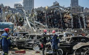 Ливан выразил России благодарность за помощь после взрыва