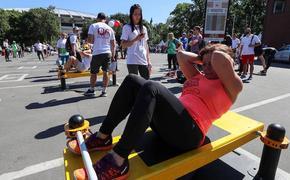 В «Лужниках» прошел посвященный дню физкультурника спортивный праздник