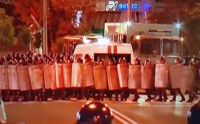В МВД Белоруссии опровергли информацию о погибшем в ходе беспорядков в стране