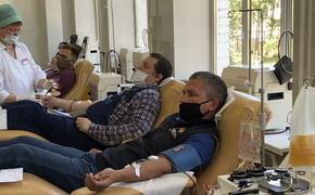 Депутат МГД Ольга Шарапова: Если вы сдаете кровь, вы помогаете спасти жизнь, и не одну