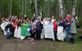 С берегов озера Большой Кисегач волонтеры собрали две тонны мусора