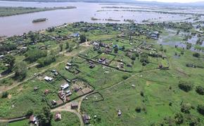 Амур вблизи Хабаровска подобрался к опасной отметке