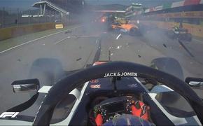 Гран-при Тосканы «Формулы-1» остановили после двух аварий