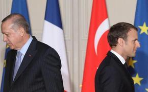Париж выражает готовность выступить на стороне Греции в случае вооружённого столкновения с Турцией