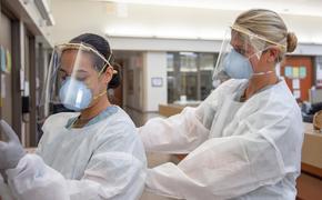 В США за сутки выявили 41 тысячу случаев заражения коронавирусом