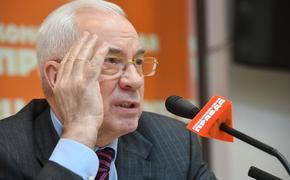 Экс-премьер Украины  Азаров  объяснил, зачем Западу нужна слабая Белоруссия