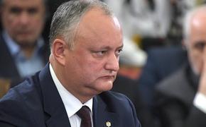 Додон сдал документы в молдавский Центризбирком