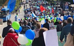 Мировой рекорд. Очередной митинг в Хабаровске администрация пыталась заглушить «Танцем рыцарей» из балета «Ромео и Джульетта»