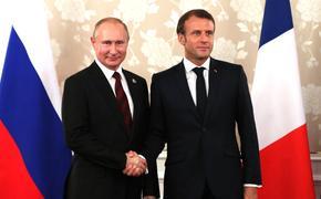 Сенатор  Кристиан Камбон  назвал условие визита Макрона в Россию