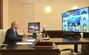 Путин: В России медики научились бороться с новой коронавирусной инфекцией COVID-19