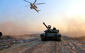 В Бурятии танковая бригада обкатывает новую тактику современного боя