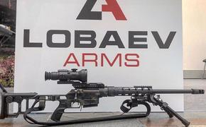 Лобаев представил свою новую снайперскую винтовку