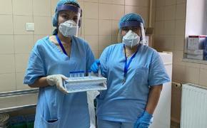В украинском городе Коломыя больных коронавирусом лечат медсестры и санитарки