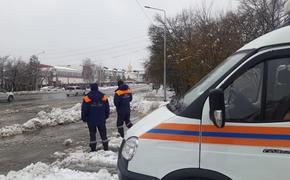 Снегопад в Хабаровском крае остановил движение на дорогах