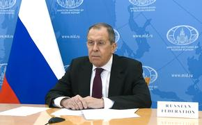 Лавров: Россия не оставит без реакции решение ЕС ввести санкции из-за Навального