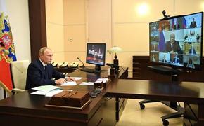 Владимир Путин назвал сроки массовой вакцинации от COVID-19