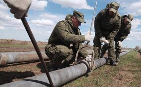 Военные досрочно построят комплекс переброски воды в реку Черная в Крыму