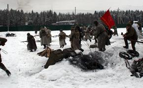 В парке «Патриот» прошла реконструкция контрнаступления РККА под Москвой