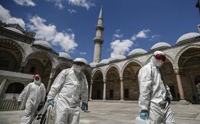 В Турции отмечено рекордное число новых случаев  COVID-19 за сутки
