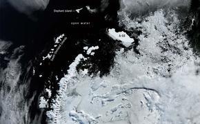Огромный айсберг напугал ученых
