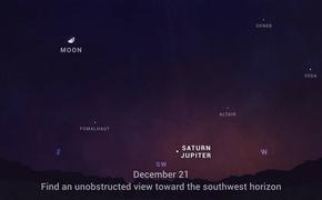 Редчайшее астрономическое явление сближение Юпитера и Сатурна произойдет 21 декабря