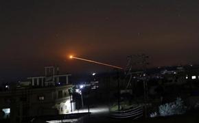Израиль нанес удар по военным объектам в Сирии, используя данные разведки США