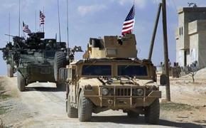 ВС США перебросили дополнительные силы и амуницию на территорию Сирии