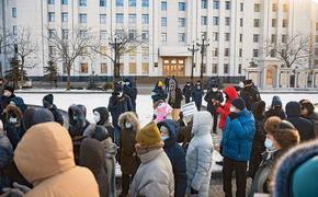 В Хабаровске активистку задержали на работе за участие в «фургальской» акции