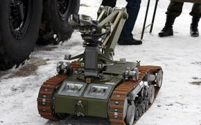 Для войск РХБ защиты разрабатывается многофункциональный робототехнический комплекс