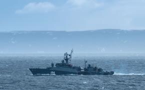 Российский МПК «Снежногорск» вышел в Баренцево море